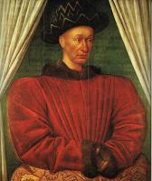 Fouquet, Jean - NPortrait of Charles VII of France