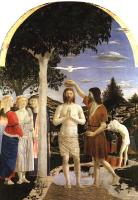 Francesca, Piero della - Baptism of Christ
