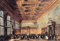 Francesco Guardi - Audience Granted by the Doge