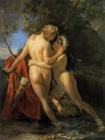 Francois-Joseph Navez - The Nymph Salmacis And Hermaphroditus