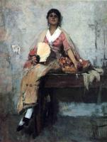 Frank Duveneck - Flower Girl