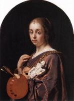 Frans van Mieris the Elder - Pictura An Allegory of Painting