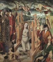 Gallego, Fernando - The Martyrdom of Saint Catherine