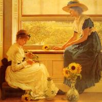 George Dunlop, Leslie - Sun And Moon Flowers