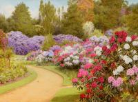 George Marks - The Rhododendron Walk