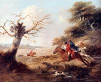 George Morland - Full Cry