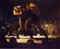George Wesley Bellows - Club Night aka Stag Night at Sharkey's