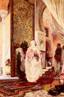 Georges Jules Victor Clairin - Entering The Harem