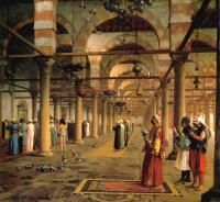 Gerome, Jean-Leon - Public Prayer in the Mosque of Amr, Cairo