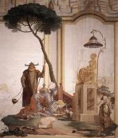 Giovanni Domenico Tiepolo - Offering Of Fruits To Moon Goddess