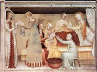 Giovanni da Milano - The Birth of the Virgin