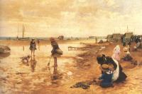 Glendening, Alfred - A day at the seaside