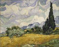 Gogh, Vincent van - Wheat Field with Cypresses