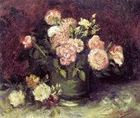 Gogh, Vincent van - Vase with Peonies and Roses