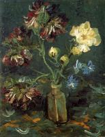 Gogh, Vincent van - Vase with Myosotis and Peonies