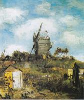 Gogh, Vincent van - The Moulin de Blute-Fin