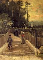 Gogh, Vincent van - A Path in Montmartre