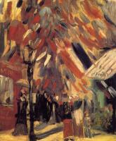 Gogh, Vincent van - Street Scene,Celebration of Bastille Day