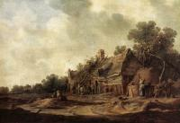 Goyen, Jan van - Peasant Huts with a Sweep Well