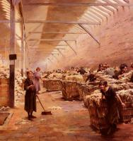 Gueldry, Ferdinand Joseph - The Wool Shed
