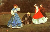 Homer, Winslow - The Croquet Game