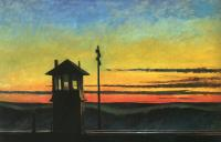 Hopper, Edward - Railroad Sunset