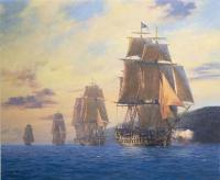 Hunt, Geoff - HMS Agamemnon-Nelson s first flagship leads the squadron, Mediterranean, 1796