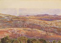 Hunt, William Holman - The Dead Sea from Siloam