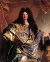Hyacinthe Rigaud - Portrait Of Phillippe De Courcillon