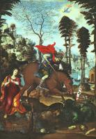 Il Sodoma - St George and the Dragon