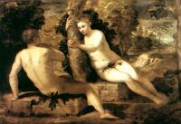 Jacopo Robusti Tintoretto - Adam and Eve