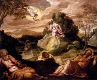 Jacopo Robusti Tintoretto - Agony In The Garden