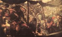 Jacopo Robusti Tintoretto - Battle between Turks and Christians