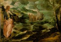 Jacopo Robusti Tintoretto - Christ at the Sea of Galilee