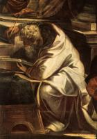 Jacopo Robusti Tintoretto - Christ before Pilate detail