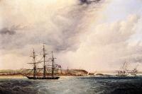 James E Buttersworth - A View of Nassau in the Bahamas, West Indies