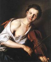 Jan Kupecky - Young Man With A Violin
