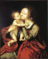 Jan Massys - Holy Virgin and Child