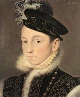 Jean Clouet - Portrait of King Charles IX of France