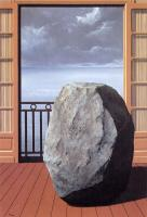 Magritte, Rene - abstract oil painting