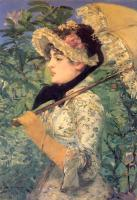 Manet, Edouard - Spring( Study of Jeanne Demarsy)