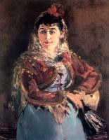 Manet, Edouard - Portrait of Emilie Ambre in the role of Carmen