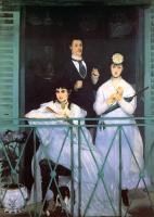 Manet, Edouard - The Balcony