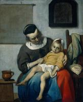 Metsu, Gabriel - The Sick Child