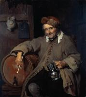 Metsu, Gabriel - The Old Drinker
