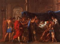 Poussin, Nicolas - The Death of Germanicus