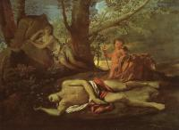 Poussin, Nicolas - Echo and Narcissus