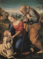 Raphael - The Holy Family with a Lamb