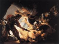 Rembrandt - The Blinding of Samson