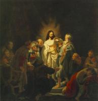 Rembrandt - The Incredulity of St. Thomas